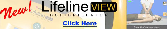 NEW! Defibtech Lifeline View AED
