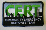 C.E.R.T. Logo Patch
