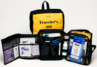Travelers Aid 73 Piece Personal Hygiene and First Aid Kit