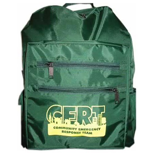 CERT back pack