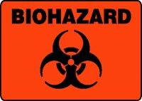 Plastic, Biohazard Sign