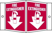 Fire Extinguisher with Graphic