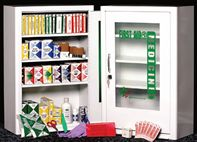 FAMC-X - 4-Shelf Industrial First Aid Cabinet- Metal