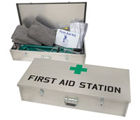 Mine First Aid Station
