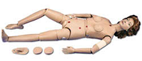 Clinical Chloe Advanced Patient Care Simulator with Ostomy
