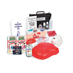 CPR and First Aid Hands-On Education Kit