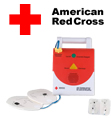 American Red Cross AED Trainer and Accessories