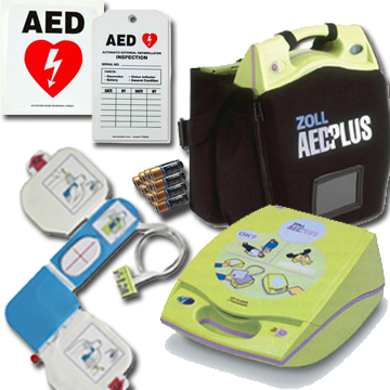 Zoll Aeds Zoll Aed Trainers Batteries Carry Case And Supplies