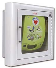 AED Wall Cabinet (recessed mount)