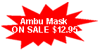 Ambu mask kit on sale!!!