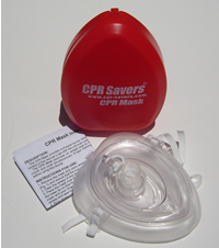CPR Savers® CPR Mask Kit - Red