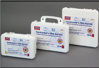 Contractor's Construction First Aid Kits