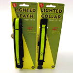 Lighted Collar & Lighted Leash