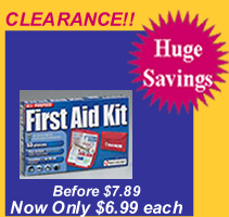 Small, all purpose softsided first aid kit