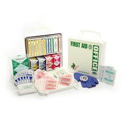 OFFICE First Aid Kit 24 unit poly white kit