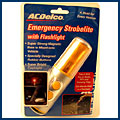 AC Delco Emergency Strobe light w/Flashlight