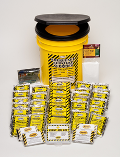 Economy Emergency Honey Bucket Kits