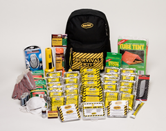 Deluxe Emergency  Backpack Kits - 4 Person
