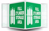 FULL CYLINDER STORAGE AREA (W/GRAPHIC)