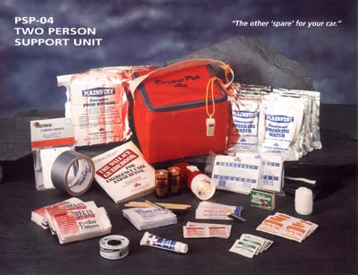 2-Person Support Kit (2 people/3 day kit)