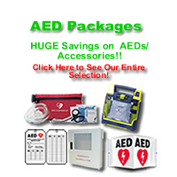 Save BIG With CPR Savers AED Package Deals!!
