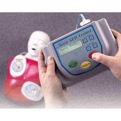 Nasco Life/form® AED Trainer with Basic Buddy™ CPR Manikin