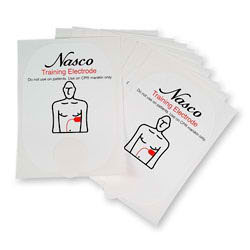 Replacement Training Pads for the Nasco Life/form® AED Trainer