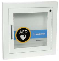 Medtronic Recessed AED Wall Cabinet with Alarm