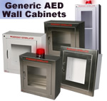 Generic AED Wall Cabinets