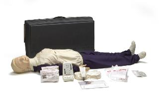 Resusci Anne CPR-D Full Body w/ Hard Case and Training Mat
