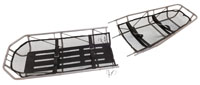 Military Type III S.S. Basket Stretcher Break-Apart Without Leg Divider
