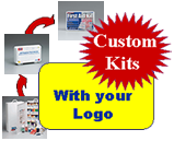 Your own private label, custom kits with your logo