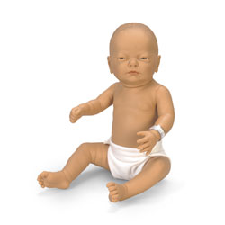 Newborn Baby Doll - White Baby Boy