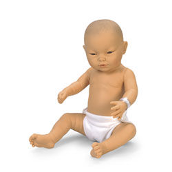 Newborn Baby Doll - Asian Baby Boy