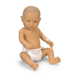 Newborn Baby Doll - Asian Baby Girl