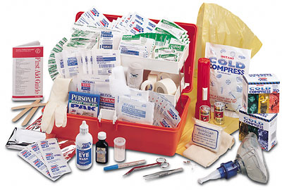 204 piece professional emergency kit - First Aid Supplies