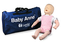 The Laerdal Baby Anne Manikin w/Soft Pak