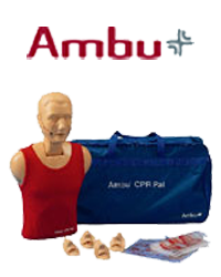 Ambu cpr manikins, advanced and basic life support