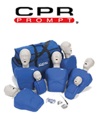 CPR prompt, basic life support cpr manikins