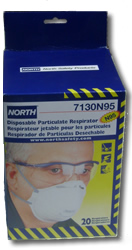 North N95 Particulate Respirator Mask - Box of 20