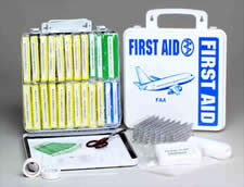 Federal Aviation First Aid kit