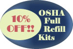 10% OFF on OSHA Smart Compliance Refill Items