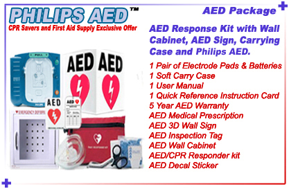 Aed Package Includes Aed 1 Pair Of Adult Electrode Pads