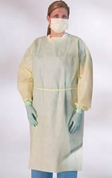 Isolation Gowns - Fluid-Resistant Multi-Ply Gowns